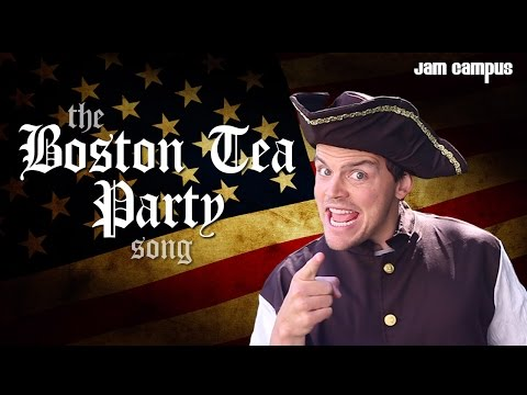 The Boston Tea Party Song (Parody of Pharrell Williams - Happy)