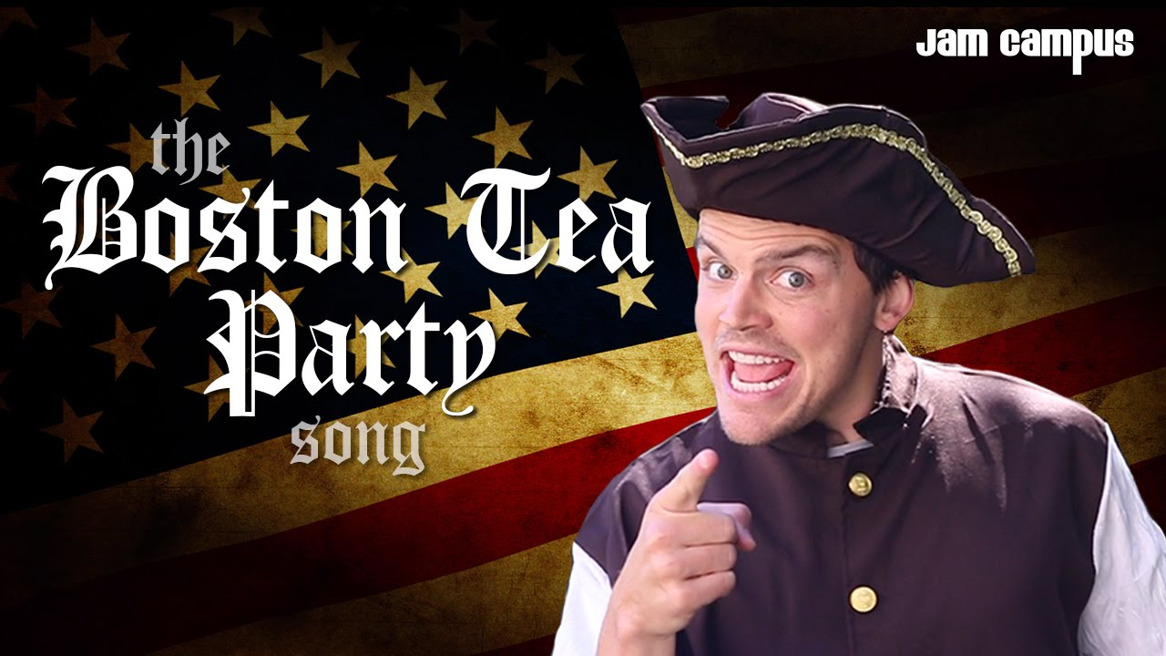 the boston tea party song  parody of pharrell williams - happy