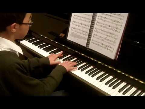 ABRSM Piano 2013-2014 Grade 4 A:2 A2 Muller Scherzo in F by JN