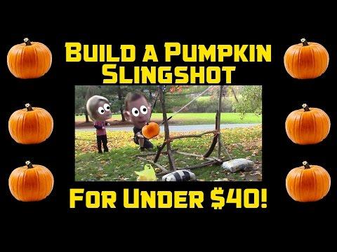 How to Build a Pumpkin Slingshot for Under $40 - THE PUMPKINATOR
