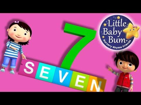 Numbers Song  Number 7  Nursery Rhymes  Original Song  LittleBaBum!