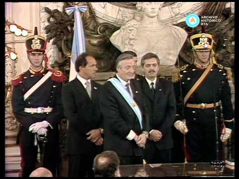 Jura de ministros en 2003