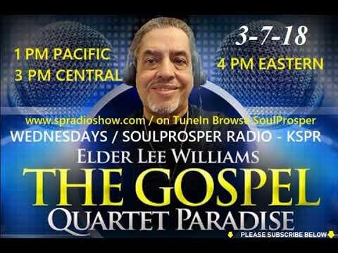 3 7 18 Gospel Quartet Paradise KSPR