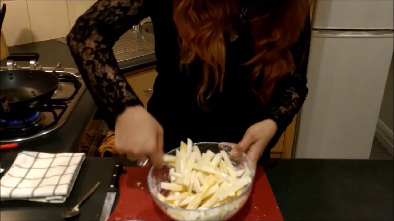 Quick And Easy French Fries In 5 Minutes At Home Youtube