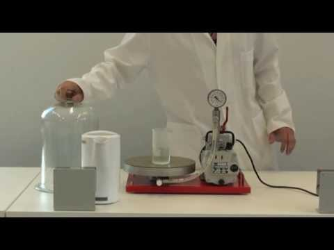 Boiling Water In A Vacuum