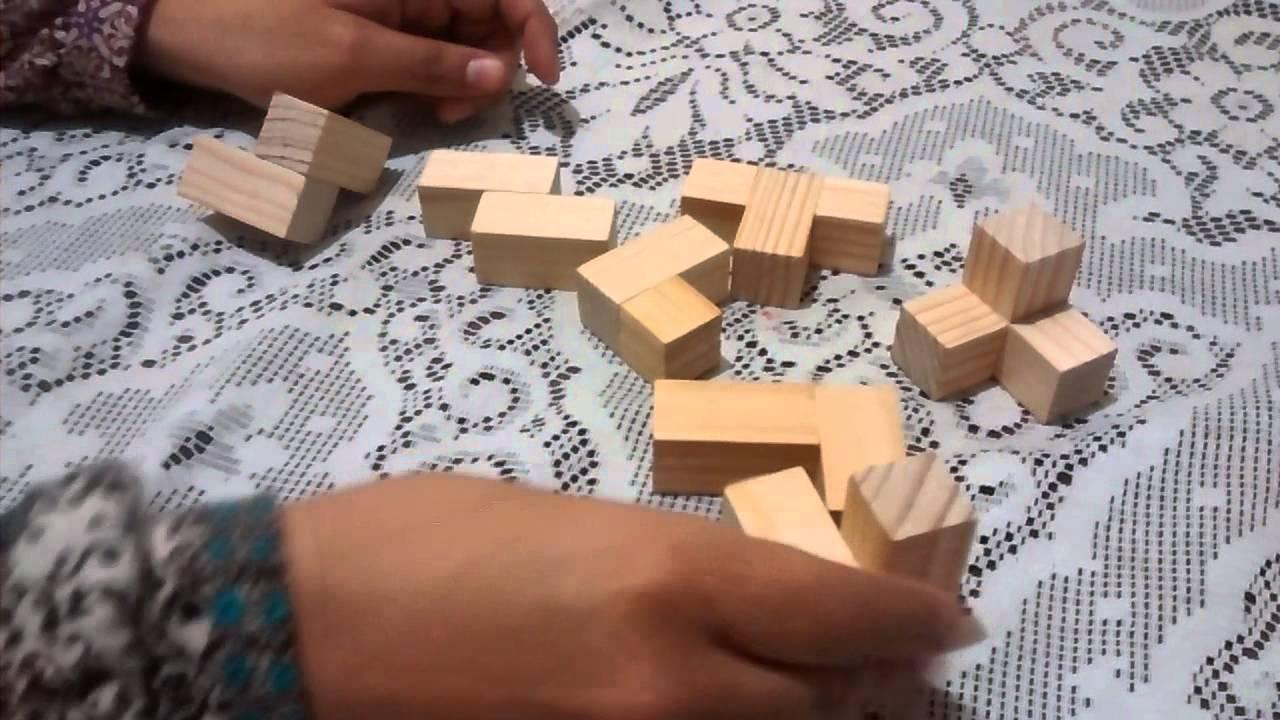 Tutoriales de como armar un cubo de madera youtube - Cubos de madera ...