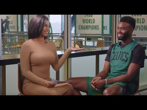 Celtics' Jaylen Brown Predicts He'll Have 5 Championships by Age 28 | Full Taylor Rooks Interview
