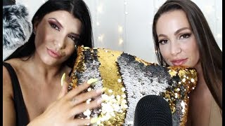 ASMR Hang Out With Us! (Romi and Abi Play With 15+ Triggers!)