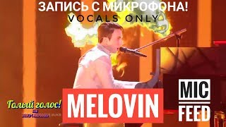 Голос с микрофона: MELOVIN - Under the Ladder (Голый Голос) Евровидение 2018