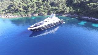 Yacht Bliss 44m Heesen.  Sipan - Croatia