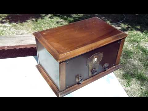 1926 Kolster 6D Battery Powered Radio by Federal Telegraph Antique