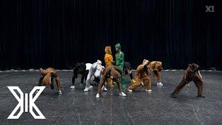 X1 - '웃을 때 제일 예뻐(Like Always)' Choreography (동물1 ver.)