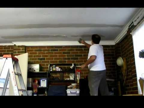 Plastering Sagging Garage Ceiling Repair