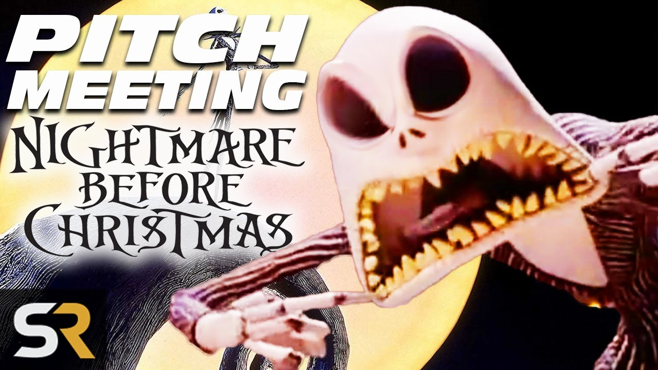 the nightmare before christmas pitch meeting - A Nightmare Before Christmas