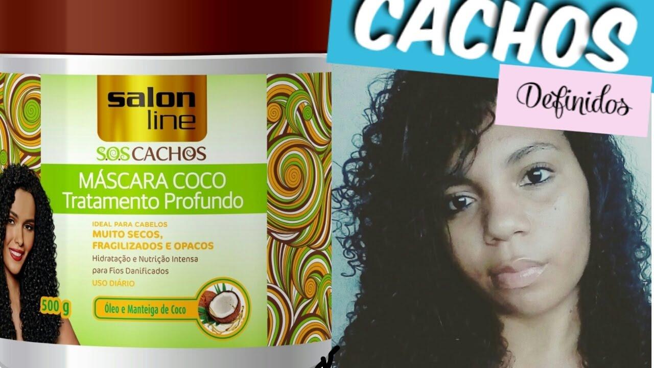 M scara de coco salon line sos cachos hidrata o profunda for Salon de discussion coco