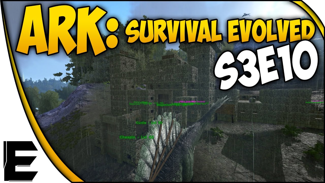 Ark survival evolved gameplay stone castle sort of s3e10 75 ark survival evolved gameplay stone castle sort of s3e10 75 youtube malvernweather Choice Image