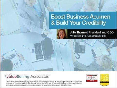 Leadership Development Business Acumen For Leaders Youtube