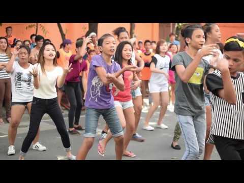 Birthday flashmob in Potrero, Malabon City