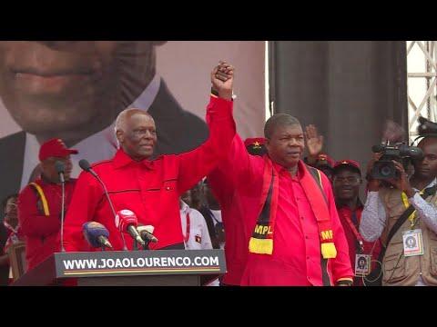 Joao Lourenco sworn in as Angola