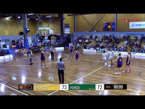 Ipswich Force at South West Metro Pirates Women's QBL 2017