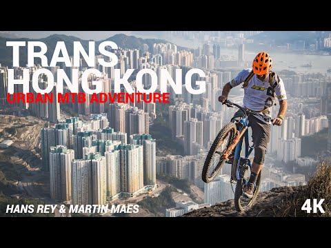 TransHongKong Urban MTB Adventure w Hans Rey & Martin Maes - 4K
