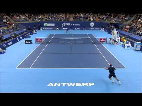 European Open: Highlights Steve Darcis vs David Ferrer