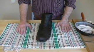 видео Как быстро высушить обувь