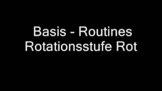 Basis - Routines Rotationsstufe Rot