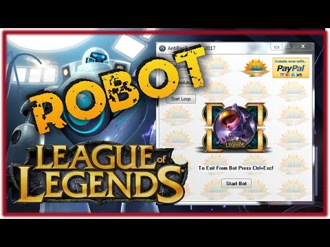 New 2017 - Influence Points Farming RoBot + Leaverbuster Removal Tool  | League of Legends