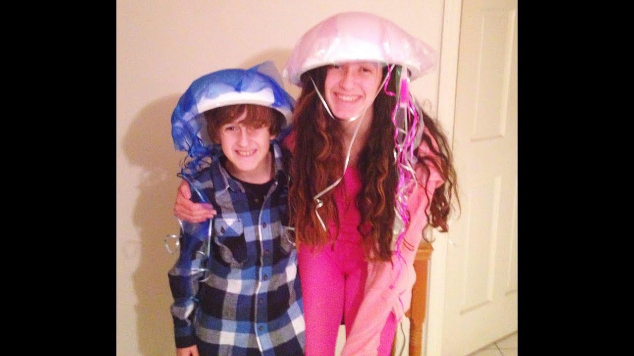 DIY Jellyfish Costume  sc 1 st  YouTube & DIY: Jellyfish Costume - YouTube