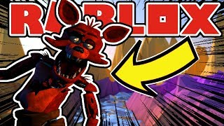 Becoming Chica And Foxy The Pirate in Roblox Blockbears FNAF RP