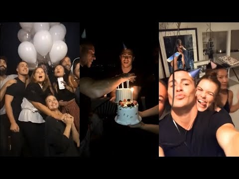 Teen Wolf Cast; Colton Haynes, Holland Roden & Tyler Hoechlin | Birthday Party