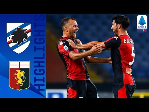 Sampdoria 1-2 Genoa | Lerager regala il derby al Genoa | Serie A TIM