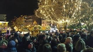 Άναμμα Χριστουγεννιάτικου δέντρου στην Κοζάνη