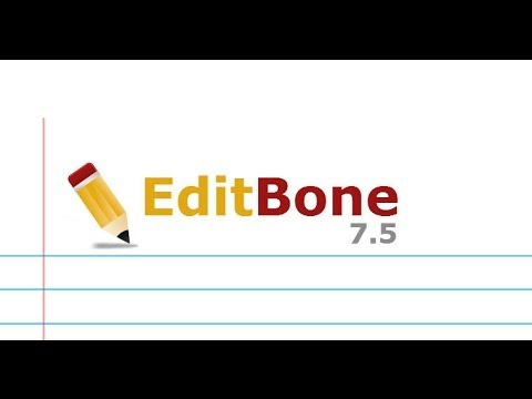 EditBone 7.5 - video review by SoftPlanet