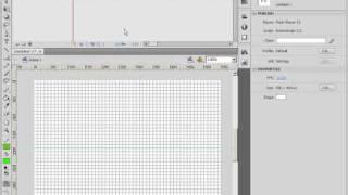Сетки, привязки и направляющие в Adobe Flash CS4 (7/46)