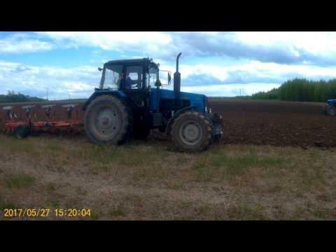 посадка картошки,подготовка почвы