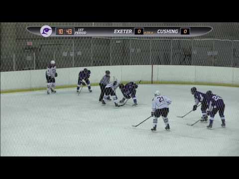 Cushing Academy - Varsity Boys Hockey vs. Phillips Exeter Academy