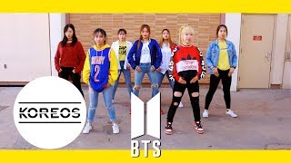 Video [Koreos] BTS 방탄소년단 - DNA Dance Cover 댄스 커버 (Female Version) download MP3, 3GP, MP4, WEBM, AVI, FLV Agustus 2018
