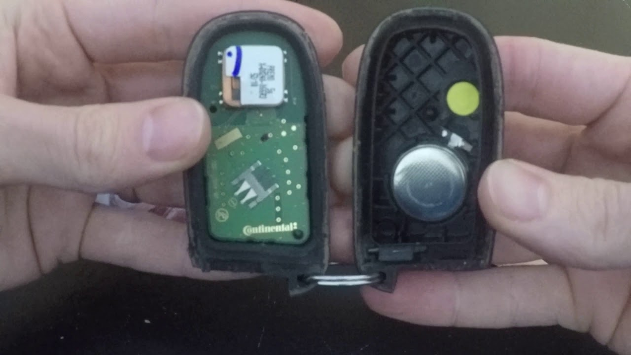 How-To: Replace Car Key Fob Battery - 2012 Dodge Journey