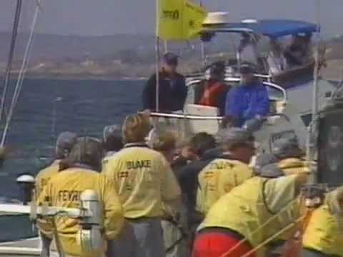 Dennis Conner In 1988 America's Cup (Connor Lives Up To His Reputation As Big Bad Dennis)