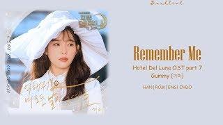 [Hotel Del Luna OST] GUMMY (거미) – 기억해줘요 내 모든 날과 그때를 (Remember Me) (HAN/ROM/ENG/INDO Lyrics/가사)
