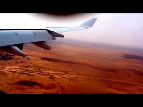 Landing at Niamey (Niger), Air France A340