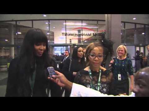 Celebrities Arrive for Mandela Memorial