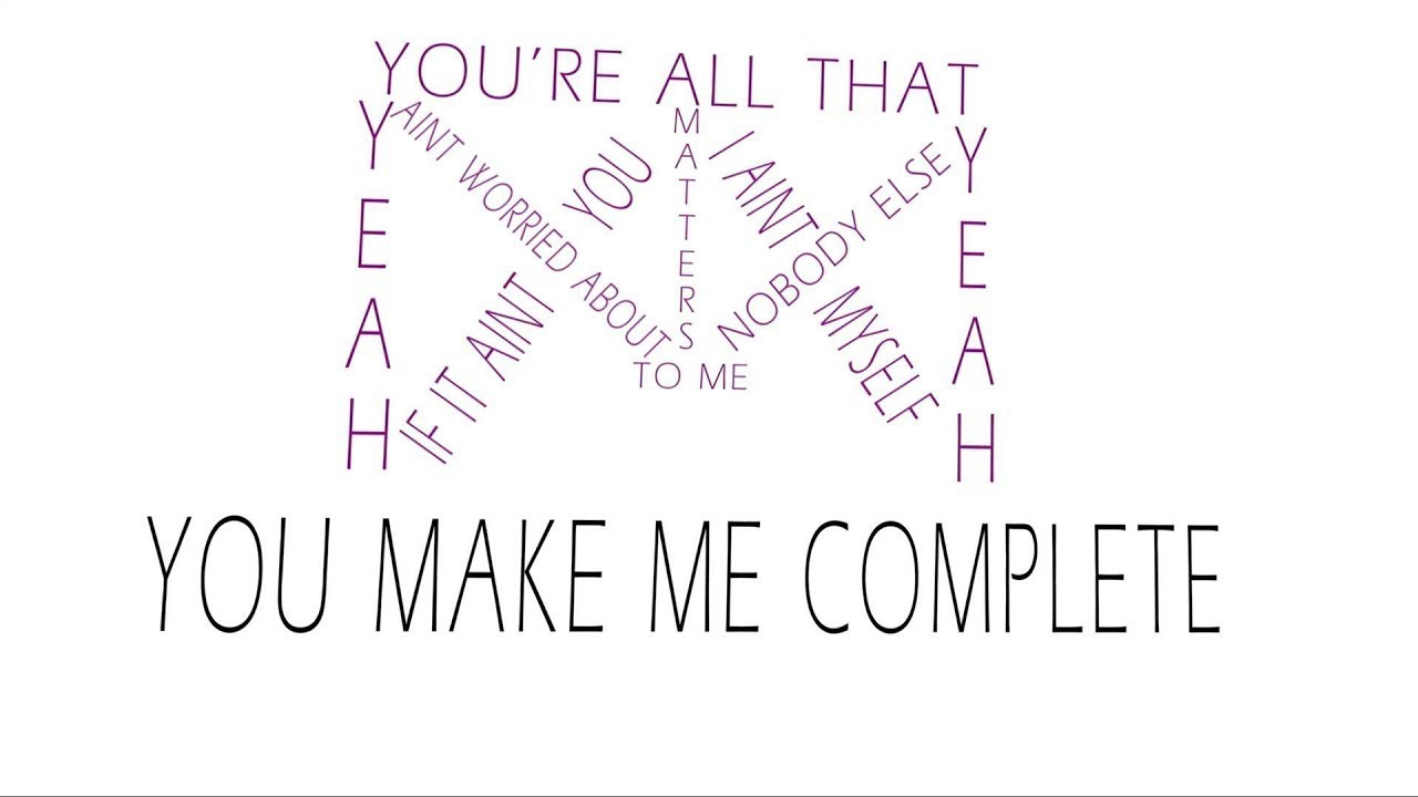 Justin Bieber All That Matters Official Lyric Video Youtube