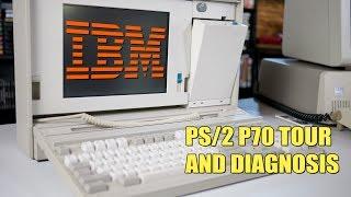 IBM PS/2 P70 Tour and Diagnosis - Part 1!