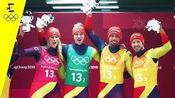 Nächstes Rodel-Gold für Deutschland! | Tag 6 | Olympische Winterspiele 2018 | Eurosport