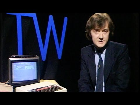 Early Data Encryption Software | Tomorrow's World | Brit Lab | BBC