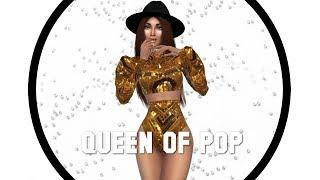 Les Sims 4 | CREATE A SIM | QUEEN OF POP + CC LISTE