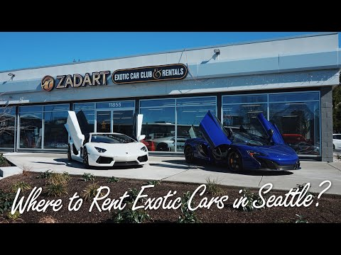 Car Activities In Seattle Ep2 Zadart Exotic Car Club And Rentals